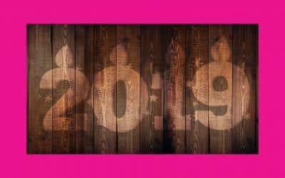Aravis Interim vous souhaite une bonne année 2019 !
